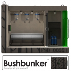 Bushbunker is an architecturally designed bushfire safety bunker concept that has been envisioned in response to the tragic Australian Black Saturday bushfires of February 2009.