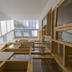 Loft in Paris by French architects Colboc Franzen et Associés.