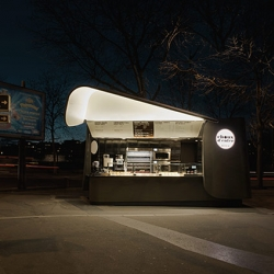 Patrick Jouin ID presented the food truck CHOUX D'ENFER by Alain Ducasse & Christophe Michalak...