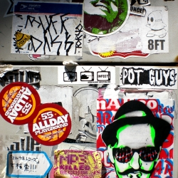 Street Art: Recent finds in Harajuku & Shibuya