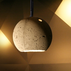 The CONCRETE_LAMP, designed by unit-berlin for the famous .HBC Restaurant in Berlin - available now in a limited edition.