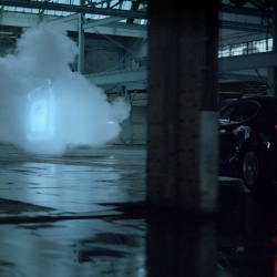 Pennzoil's Complete Protection is a first-of-its-kind TV commercial shot on gaseous vapor clouds. A project that took almost a year to produce due to the technical and engineering side of pulling off a commercial, live in-camera, of this magnitude.