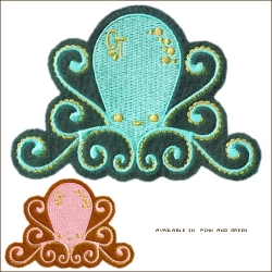 LOVE this Octopus patch