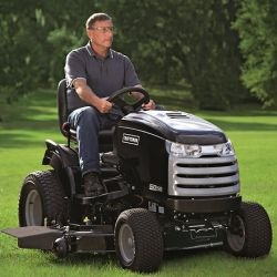 Craftsman are coming to NAIAS with Cadillac of Lawn Tractors, named as CTX.