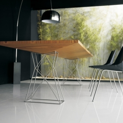 Curzon dining table for Modloft.