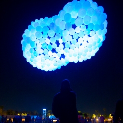 Borealis was launched at the Phish music festival 8 in California, November 1-30.  Over 50,000 people enjoy the amazing experience.By Hector Serrano Studio and Javier Esteban.