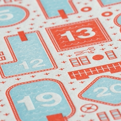 The new 2011 w+k Studio Goodness letterpress calendar is available now. Also, new letterpress cards and new t-shirts.