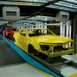 This week's episode of Ultimate Factories on the National Geographic Channel gives us a glimpse inside the 10,000,000 square foot manufacturing plant where the reinvigorated 2010 Chevy Camaro SS is produced.
