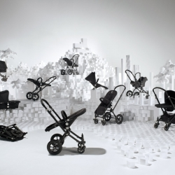 creative agency ...,staat teamed up with photographer extraordinaire Grégoire Alexandre for Bugaboo. The result: 1 image, 10 all black bugaboos & 1.000+ white building blocks...