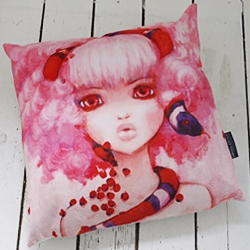 The wonderful artist Camilla D'Errico releases a trio of gorgeous Limited Edition pillows and canvases.