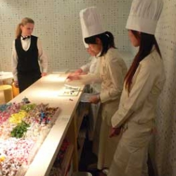 Martin Guixe's Candy Restaurant in Tokyo. A restaurant that serves candy and nothing else!