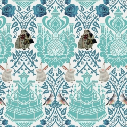 Recent La Chula textile lab collections for SS 2011: 'Siouxie Xic' and 'Porcelana RussMexx' with a folk combination of motifs originating from russian, mexican and native american villages.