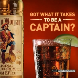 Funny new Captain Morgan Commercial movies : 'How do you leave your girlfriend to go out and be with your friends ?'