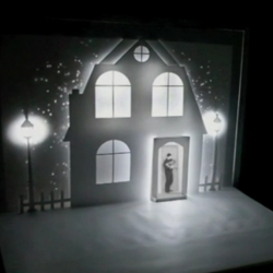 The Ice Book is a creative project combining, the pop-up book and video projection technics - Work directed by Davy McGuire and Kristin McGuire.