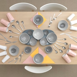Ingeniously fun images by photographer Carl Keliner and stylist Evelina Kleiner for an IKEA campaign.