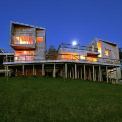 Wood House design by Jonas Retamal in Chiloe, South Chile