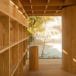 Casa de Madera is a wooden experimental house designed by S-AR in Mexico.