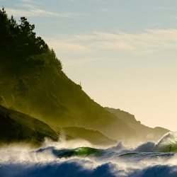 His photography style has the ability to catapult the viewer into the moment. Chris Burkard, at age 24, is creating some of the most prolific surf/lifestyle photos out there.