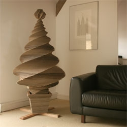 Torchbox made this cardboard Christmas tree for Recycle Now. If you're in the UK, you can win it at recyclenow.com