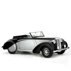 On December 4th, the UK's Historics at Brooklands will auction off Churchill's 1939 Daimler DB18 Drophead Coupé.