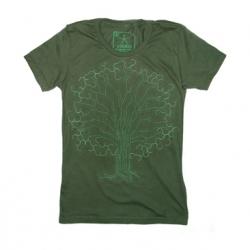 CIRCUITREE- New women's PAINT-FREE, eco friendly (100% organic cotton) T-Shirt design from Ruben Trelles aka VIIDRIO.