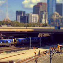 this guy is on a mission to shrink cities! the tilt-shift work of ben thomas