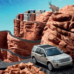 New Campaign for Land Rover.  Built with 1.5 tons of Clay. Hand animated frame by frame.  Check out the making of as well.
