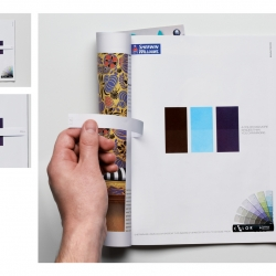 "An interactive ad for Color System, a Sherwin-Williams product that offers thousands of different shades of paints. ""A color has more shades than you can imagine."" Optical illusion rocks!"