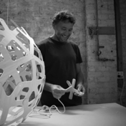 After its launch at Superstudio, you can now see the assembly of the Iconic Coral light in this film by Davide Calafa for David Trubridge. It shows the how to assemble the flat-packed Coral or Floral lampshade.