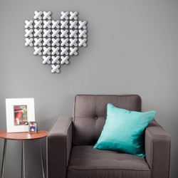 New Umbra Cross Stitch wall decor - Ultimate customization and easily scalable from small to large.