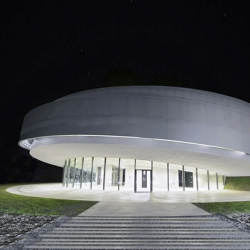 The new Cultural Center of European Space Technologies in Slovenia has opened in the hometown of the first theoretician of space, Herman Potocnik Noordung.