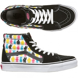 Robot Vans by Aimée Wilder now on sale through the Vans website.