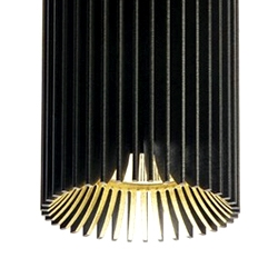 How functional heatsinks can be sexy! Design by MaDe for the Belgian lighting company DARK.