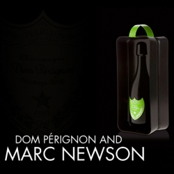 We love the Black Box designed by Marc NEWSON for DOM PERIGNON...