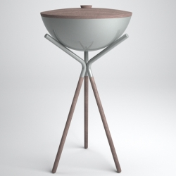 Now that spring is here, more outdoor cooking time, but no barbecue looks like the Druida BBQ by Mermelada Estudio. It is simply stunning!