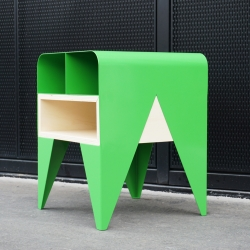 FROG - Furniture storage / bedside, by french designer Nicolas Abdelkader.