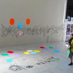 VIAJE ESTELAR Installation by Sael.