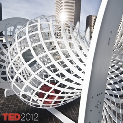 Self-Assembly Line by Skylar Tibbits and Arthur Olson, presented at the 2012 TED Conference, is a large-scale version of a self-assembly virus capsid, demonstrated as an interactive and performative structure.