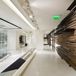 The new Marithé + François Girbaud shop designed by Patrick Norguet.