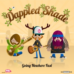 Artwork for the forthcoming album by the virtual band Dappled Shade.