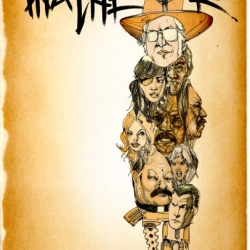 David Choe, Mister Cartoon, and SA Studios have all contributed to the design of these promotional posters for Machete, Robert Rodriguez's latest film, which opens Friday.