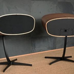 Davone continues the 'Rithm' legacy with the new 'Ray' speakers. The Ray was showcased at the Munich High End show 2010.