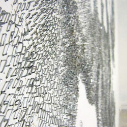 Staple art by French artist Baptiste Debombourg.
