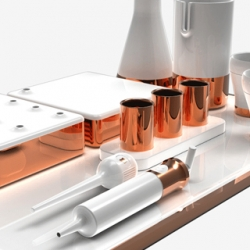 Designgoat created an entirely new dining experience using molecular gastronomy to form food in new ways - then designed a completely tool set to eat it with.
