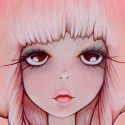 Beautiful new prints and canvases from Anarkitty.