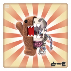 The latest anatomy print by Jason Freeny features Domo.