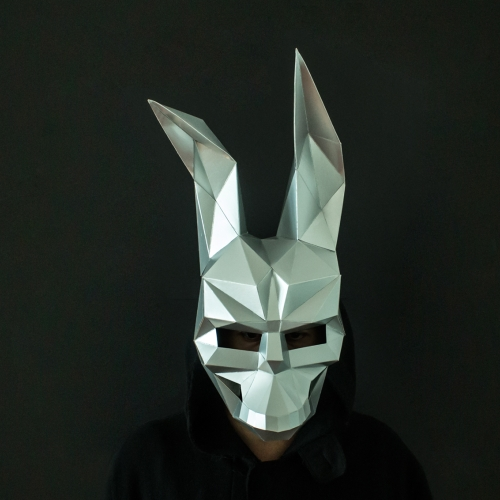 Donnie Darko Paper Mask Template by Awesome Patterns for Halloween.