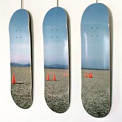 Ride them or hang 'em - Doodah x Frank Schott Artist Series CONES [ limited edition of 100 boards ]