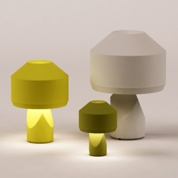 """Dot"" is a sculptural lamp designed by Samuel Accoceberry for French company Marcel By."
