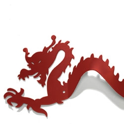 How about your own little dragon for your towels? Pluto Produkter has a great series of metal hanger/racks.